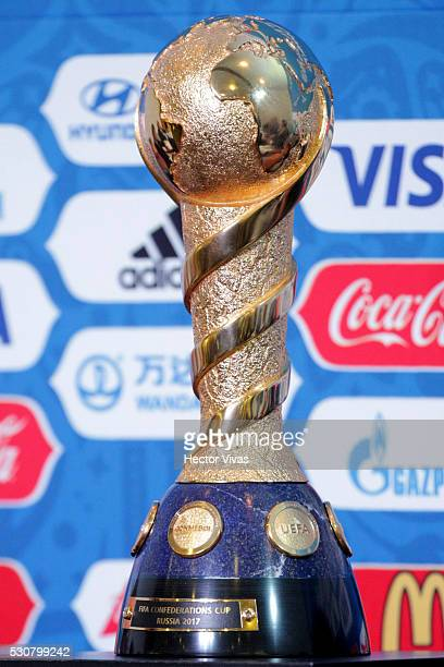 A view of the FIFA Confederations Cup during the FIFA Confederations Media Event at CAR on May 11 2016 in Mexico City Mexico