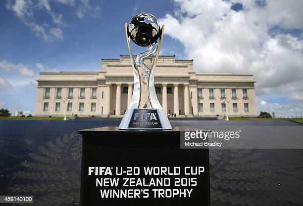 A view of the FIFA U20 World Cup at the Auckland War Memorial Museum on November 18 2014 in Auckland New Zealand The FIFA U20 World Cup is held in...