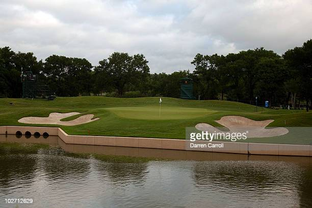 A view of the fifth hole during the HP Byron Nelson Championship at TPC Four Seasons Resort Las Colinas on May 21 2010 in Irving Texas