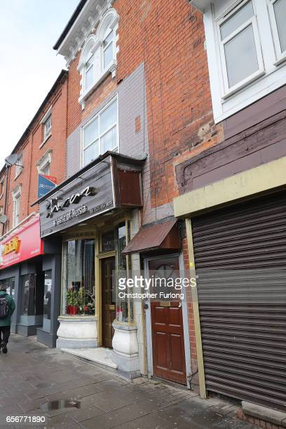 A view of the flat above Shiraz Restaurant in Hagley Road Birmingham which was raided by antiterror police in connection with the London Terror...