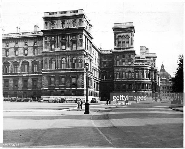 A view of the Foreign Office at Whitehall in London England Circa 1930