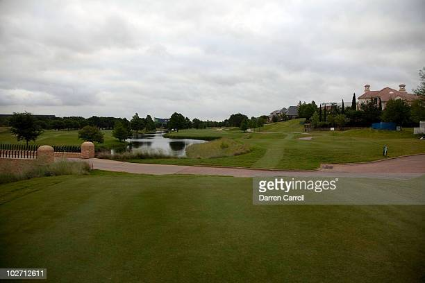 A view of the fourth hole during the HP Byron Nelson Championship at TPC Four Seasons Resort Las Colinas on May 21 2010 in Irving Texas