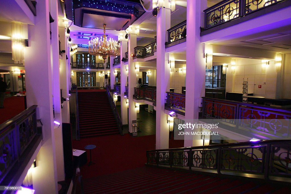 View of the foyer of the Friedrichstadtpalast music hall in Berlin 24 January 2008. The theatre was built in 1984 in then Communist east Berlin.