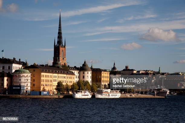 A view of the Gamla Stan Area a landmark area in the old historical city center on the island during an 'Around Stockholm Feature' on October 26 2006...