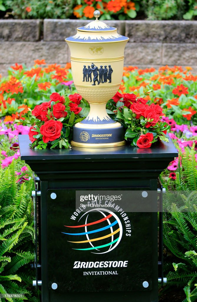 A view of the Gary Player Cup which will be awarded to the Invitational winner during the Third Round of the World Golf Championships-Bridgestone Invitational at Firestone Country Club South Course on August 3, 2013 in Akron, Ohio.