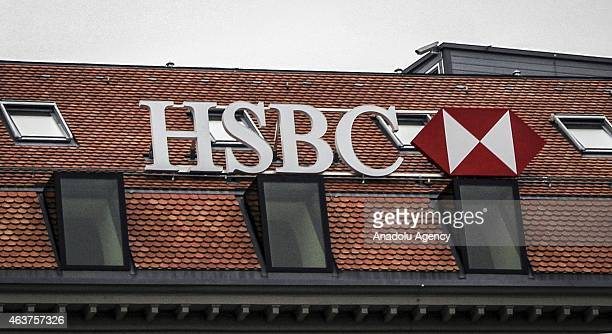 A view of the Geneva branch of HSBC building after Swiss police undertook a money laundering operation in Geneva Switzerland on February 18 2015