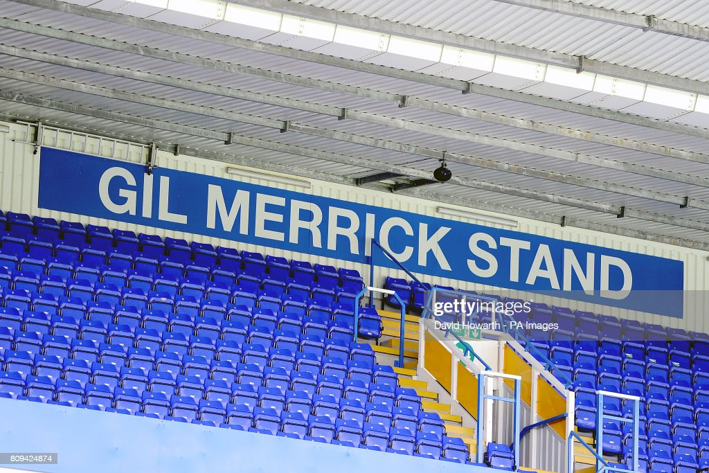 A view of the Gil Merrick stand