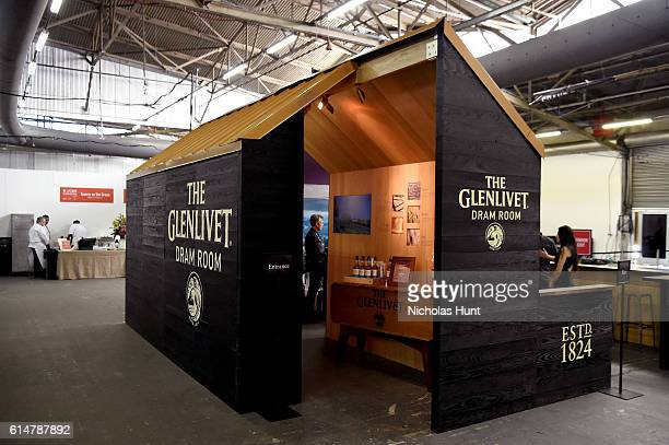 A view of the Glenlivet Fram Room at Southern Glazer's Wine Spirits Trade Day presented by Beverage Media at Pier 94 on October 14 2016 in New York...