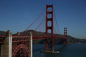 A view of the Golden Gate Bridge on April 27 2015 in San Francisco California Golden Gate Bridge officials are asking the Federal Aviation...
