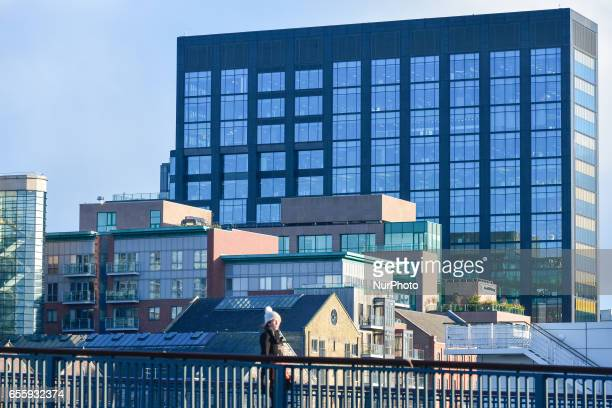 A view of the Google building at Barrow Street Grand Canal Dock Dublin On Monday March 20 in Dublin Ireland