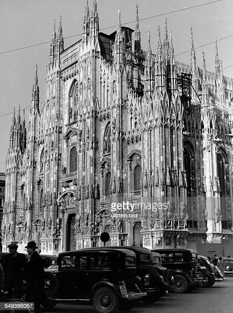 View of the gothic fassade Vintage property of ullstein bild