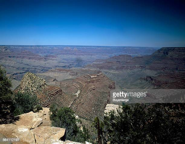 View of the Grand Canyon from the South Rim Grand Canyon Village Arizona