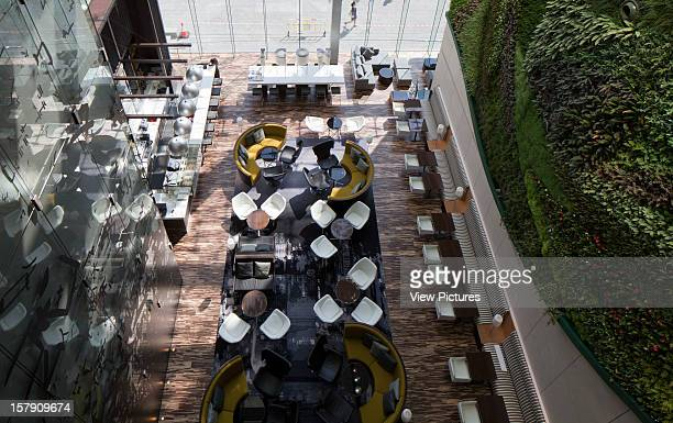 View Of The Green Cafe From Above Rocco Yim China Architect