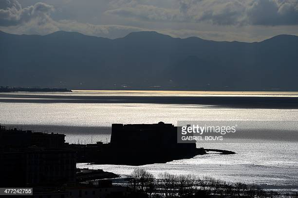 View of the gulf of Naples taken on March 7 2014 rom the Posillipo hill AFP PHOTO / GABRIEL BOUYS