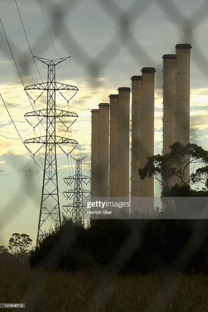 A view of the Hazelwood Power Station on March 21, 2012 in Melbourne, Australia. The brown coal fueled power station, located in Latrobe Valley is the oldest in Victoria and provides the state nearly 25% of its energy. In 2005 Hazelwood was labeled Australia's least carbon efficient power station by WWF Australia and continues to be a target of issue of environmentalist groups.