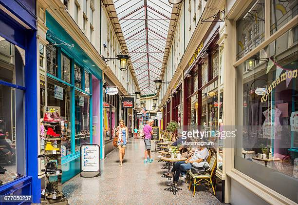 View of the High Street Arcade