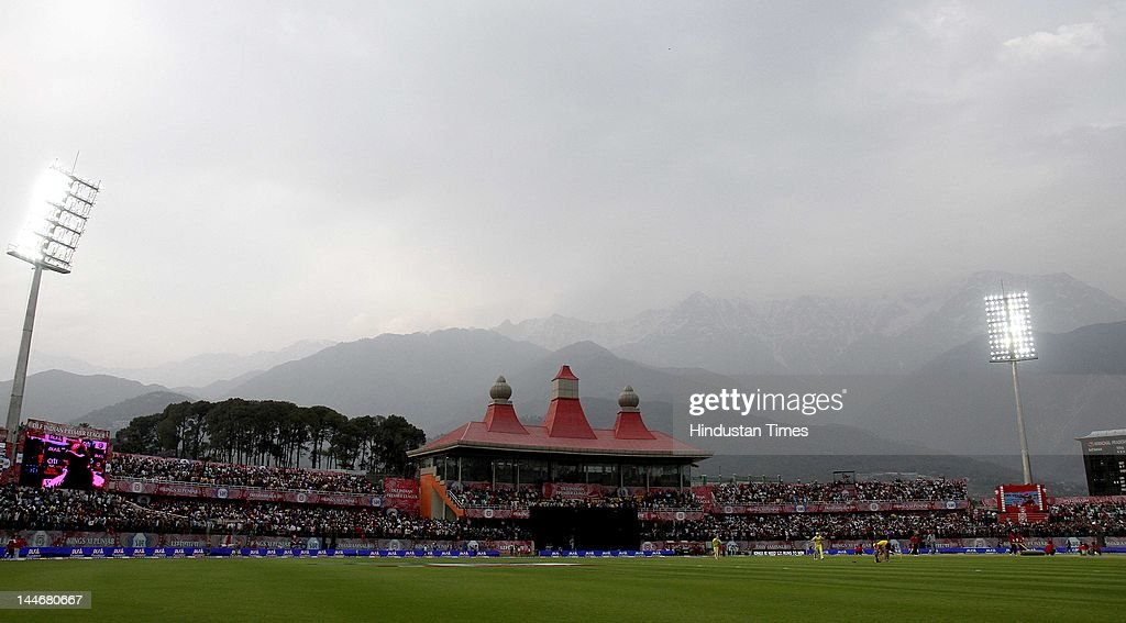 Kings XI Punjab vs Chennai Super Kings - IPL 2012 : News Photo