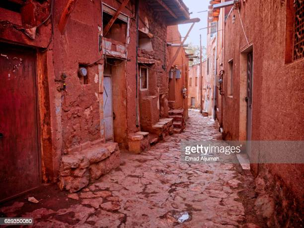 View of the Historical Village of Abyaneh, Iran - 28 April 2017