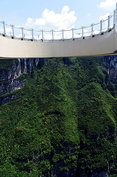 Worlds Longest Skywalk In China Pictures Getty Images - China opens worlds longest skywalk