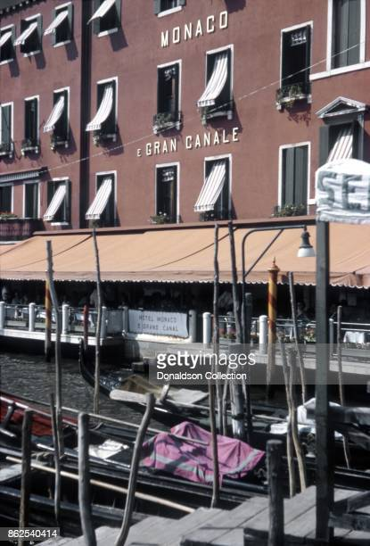 A view of the Hotel Monaco Grand Canal on September 12 1963 in Venice Italy