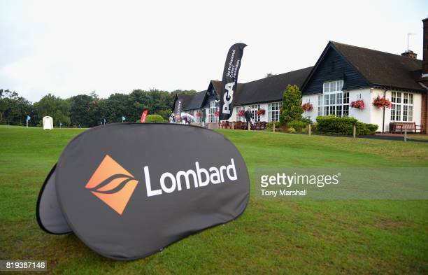 A view of the house during the PGA Lombard Trophy East Qualifier at Sandy Lodge Golf Club on July 20 2017 in Northwood England