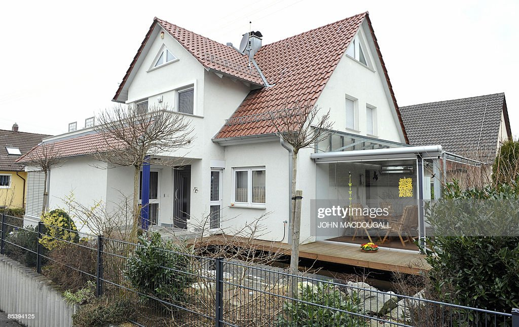 View of the house where 17yearold Tim Kretschmer lived with his parents in Leutenbach southern Germany on March 12 one day after he went on rampage...