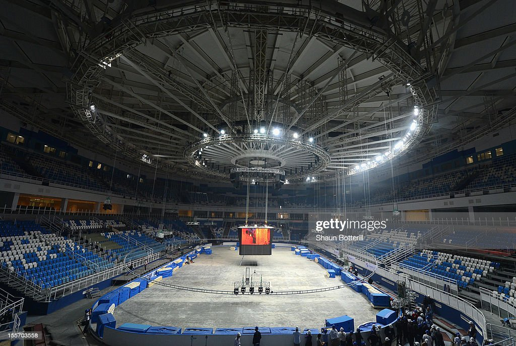 A view of the Iceberg Skating Palace venue for Figure Skating at the 2014 Winter Olympics on November 6, 2012 in Sochi, Russia.