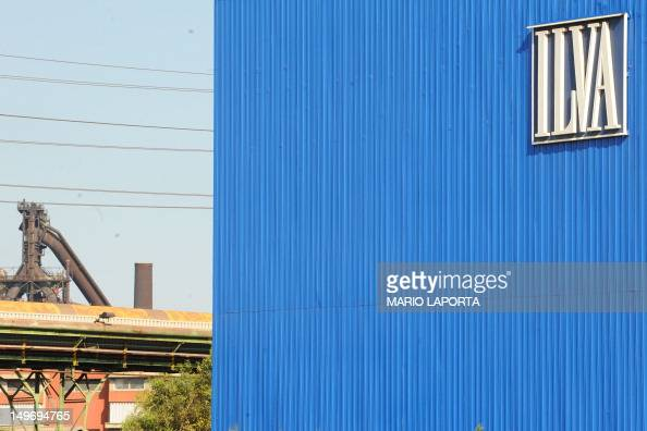 A view of the ILVA plant in the southern Italian city of Taranto on August 2 2012 Thousands of Italians took to the streets in the southern city of...