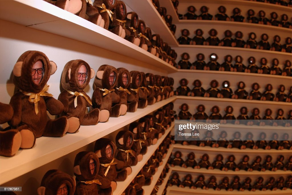 A view of the installation is shown at the Terry Richardson Gallery opening at Deitch September 10, 2004 in New York City.
