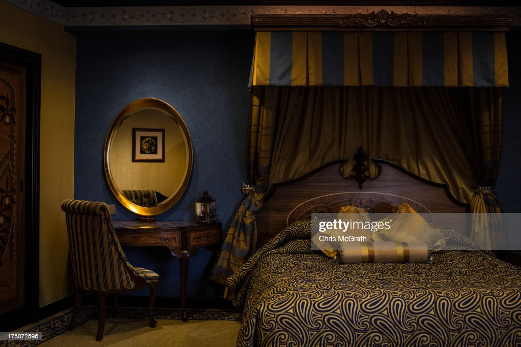 A view of the interior of a hotel room in the Lisboa Casino and Hotel on July 28, 2013 in Macau, Macau. Macau, the only place in China with legalized casino gambling is booming. Gambling has been legal in Macau for more than 150 years but has seen a rapid transformation over the last decade from the small time gambling clubs, gangs and prostitution of the 1990s, to becoming the worlds gambling mecca. Last year, Macau generated $38 billion in casino revenue, six times more than Las Vegas, Nevada. Situated just one hour from mainland China and Hong Kong, Macau also known as 'The Oriental Las Vegas ' received 14.1million visitors for the first six months of this year, in the most recent Statistics and Census Bureau report, with close to 90% of visitors being from mainland China, Taiwan and Hong Kong. Although the gambling industry has improved general living standards across Macau, it is not without it's downside. With the influx of big money also comes, higher living costs, with some residents saying issues such as transportation, health care and social welfare have largely been ignored. Property prices have increased dramatically, forcing many small and mid-sized businesses into bankruptcy and pushing some residents to share accommodation or move away completely.