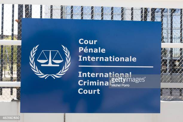 View of the International Criminal Court as Dutch prosecuters consider a war crimes investigation of the Malaysia Airlines crash July 23 2014 in The...