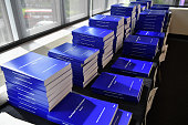 A view of The Iraq Inquiry Report presented by Sir John Chilcot at the Queen Elizabeth II Centre in Westminster on July 6 2016 in London England The...