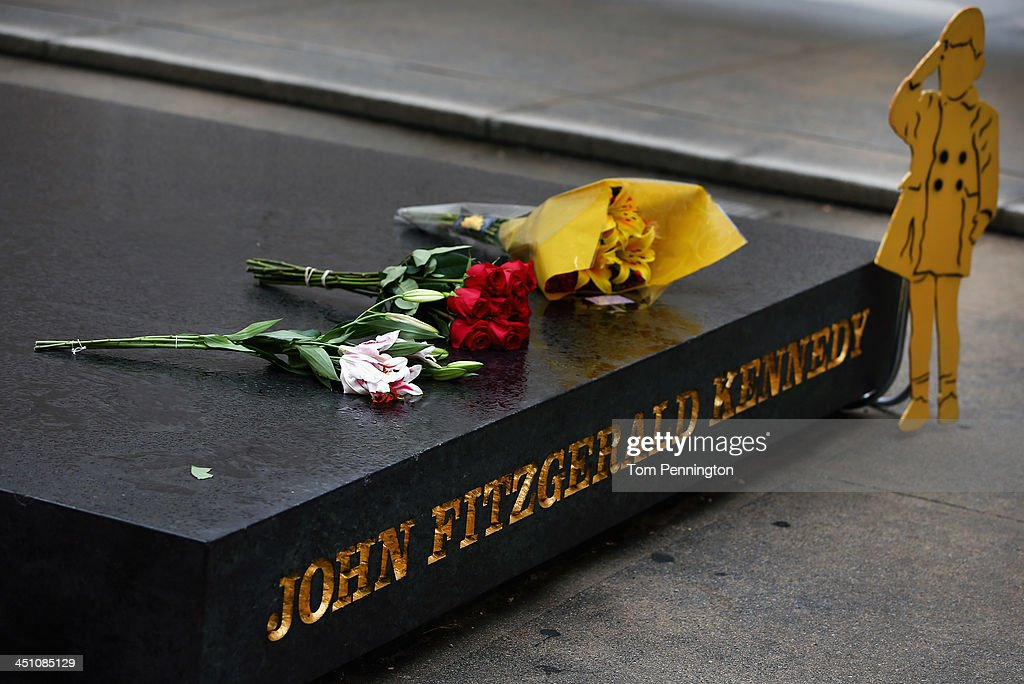 A view of the John F. Kennedy Memorial Plaza on November 21, 2013 in Dallas, Texas. People visited the memorial and Dealey Plaza on the eve of the 50th anniversary of the assassination of U.S. President John F. Kennedy as he rode in a Presidential motorcade in Dealey Plaza.