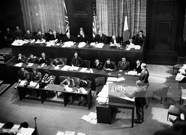The allies views of the nuremberg trials