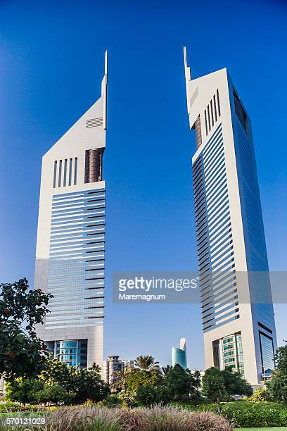 View of the Jumeirah Emirates Towers