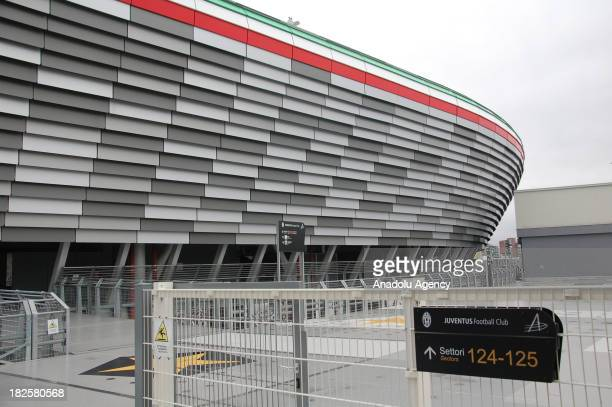 A view of the Juventus Stadium the home of Italy's Juventus Football Club on Tuesday October 1 2013 in Torino Italy Turkey's Galatasaray to face...