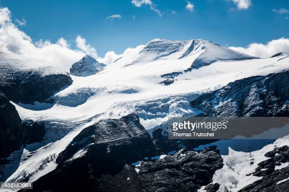 View of the Karling glacier in the Austrian Alps on August 22 in Mooserboden Austria