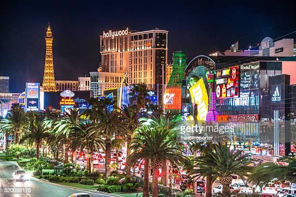 Ansicht der Las Vegas Streifen