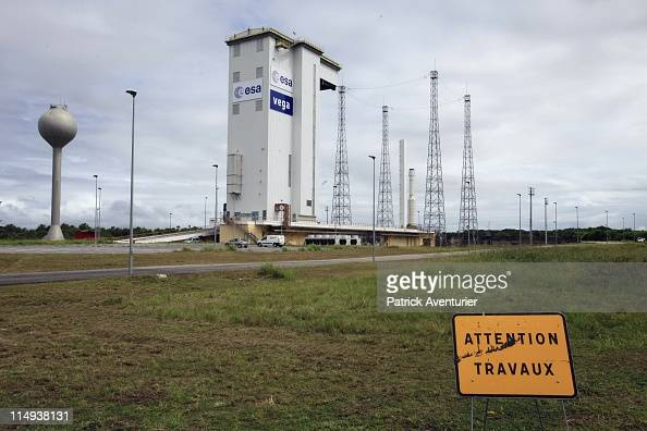 A view of the launch complex for the new light European Launcher Vega on May 5 2011 in Kourou French Guiana Vega the European fourstage launcher is...