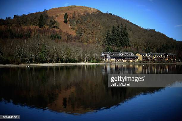 A view of The Lodge on Loch Lomond on March 24 2014 in Luss ScotlandA referendum on whether Scotland should be an independent country will take place...