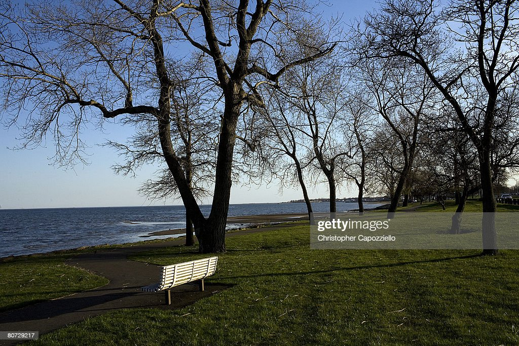 A view of the Long Island Sound can be seen in a section from Long Wharf April 16 2008 in New Haven Connecticut New Haven home to Yale University...