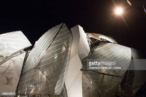 View of the Louis Vuitton Foundation during the Inauguration of the Louis Vuitton Foundation on October 20 2014 in Paris France