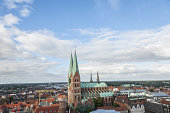 View of the Lubeck town