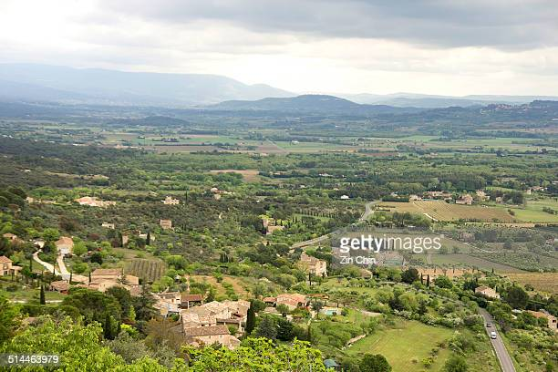 View Of The Luberon Landscape