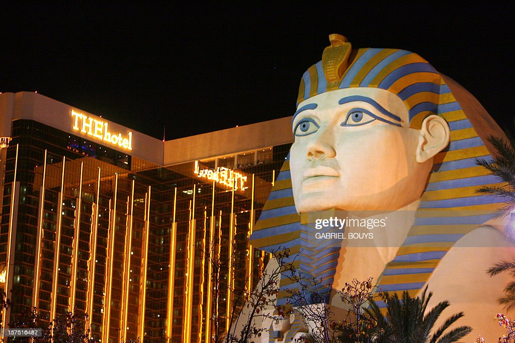 View of the Luxor Hotel in Las Vegas, 12 November 2006.