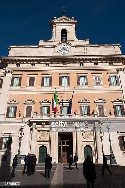 Parlamento italiano foto e immagini stock getty images for Parlamento rome