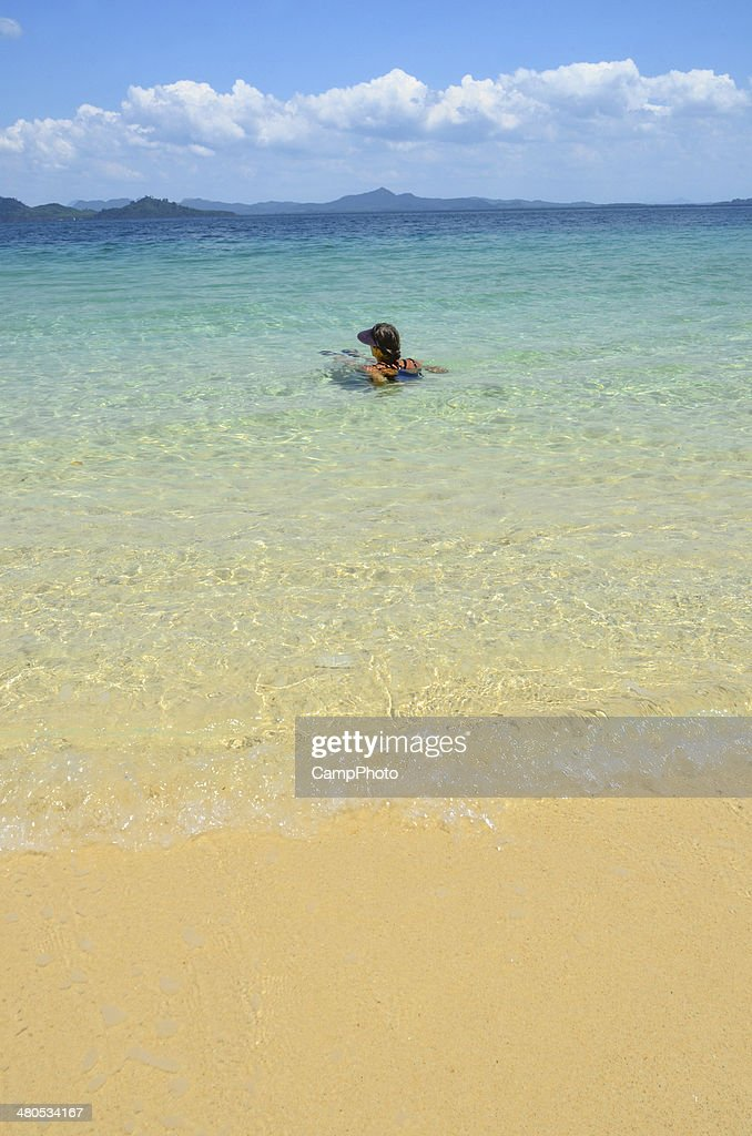 View of the Mainland : Stock Photo
