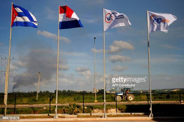 View of the Mariel development zone in Mariel Cuba on October 31 2017 / AFP PHOTO / YAMIL LAGE