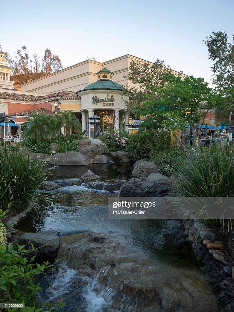 A view of the Marmalade Cafe at The Commons in Calabasas frequented location by the Kardashians on July 07 2016 in Calabasas California