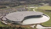 A view of the McLaren factory on November 10 2006 near Woking England